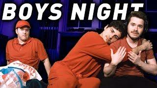 Boys night pranks
