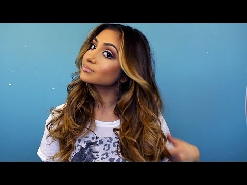 how to curl your hair (loose curls)
