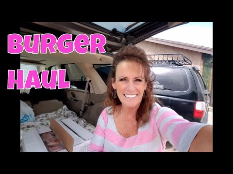 Zaycon Fresh Burger Haul With Linda's Pantry