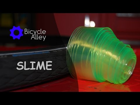 Installing And Modifying Slime Tire Protector Tube Liner on a 700x32c Tire Wheel