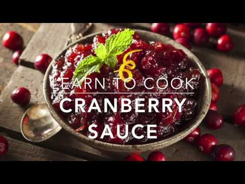 Learn to cook: Sugar Free Cranberry Sauce
