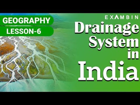 Indian Geography-Rivers of India & Drainage System