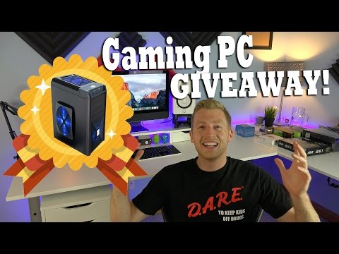 Custom Gaming PC GIVEAWAY! JrTech FREE Custom Built Windows Computer Giveaway!