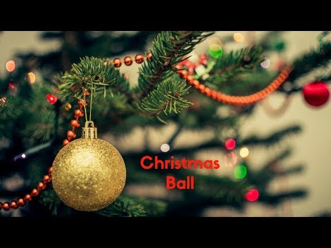 HOW TO MAKE CHRISTMAS BALLS FOR CHRISTMAS TREE DECORATION || CHRISTMAS DECORATING IDEAS