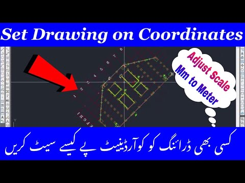 How to Set Drawing On Coordinates and Adjust Scale
