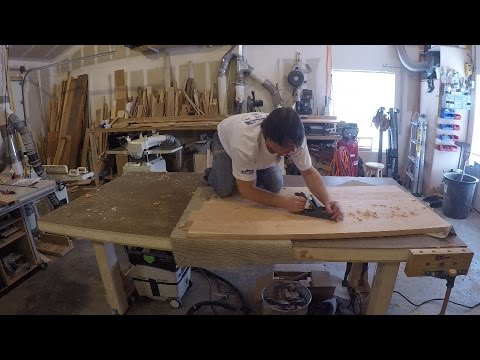 Building the Top and Drawer Glides – Cherry Writing Desk