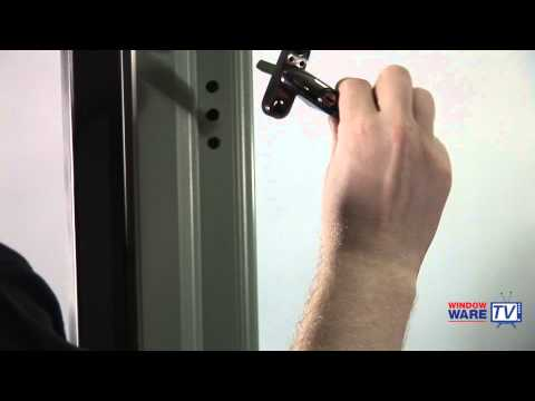 How to change, fit or replace a uPVC window handle (espag handle)