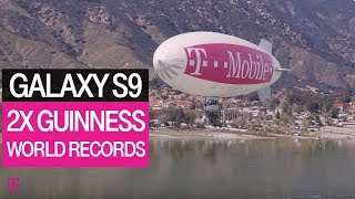 T-Mobile & Samsung Galaxy S9 Set Guinness World Records