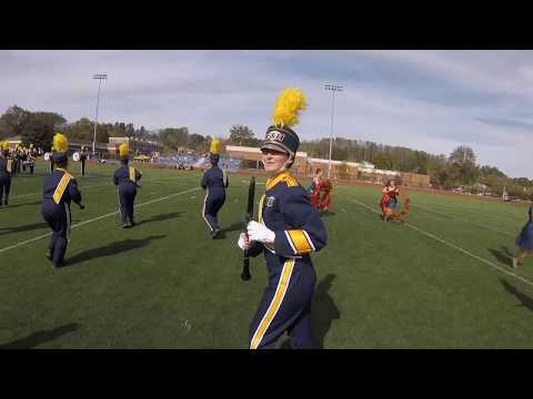 Emory & Henry College Marching Band Show Goes On