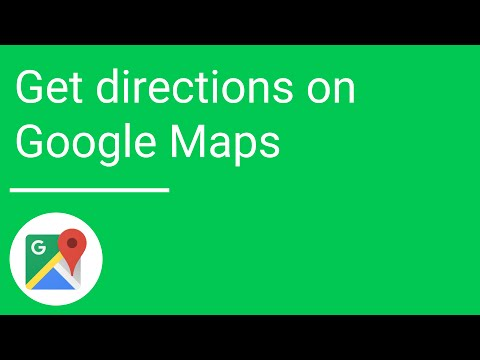 Get directions on Google Maps for Android