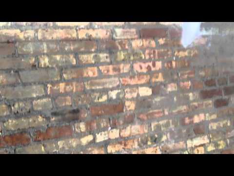 Inside Brick Washing Chicago