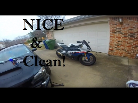 How To Clean and Lube a Motorcycle Chain!