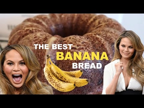 CHRISSY TEIGEN'S BOMB A** BANANA BREAD | Kailey's Kitchen