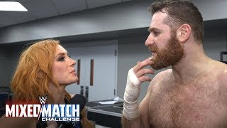 Did Sami and Becky eat too much birthday cake to win at WWE Mixed Match Challenge?