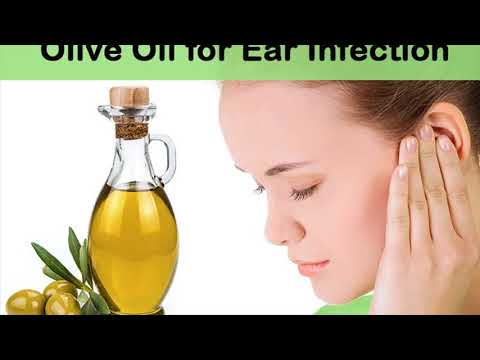 Destroy Strong Bacteria In The Ear With Olive Oil- Remove Ear Wax With Olive Oil- How