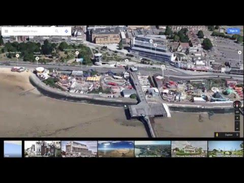 Google Maps Earth 3D Tilt Control and Drag