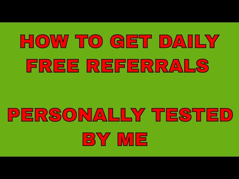 How to get unlimited free referrals for any program - My own tested way on whatsapp