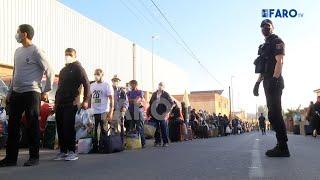 Comienza la repatriación: operativo de la Policía Nacional para la identificación