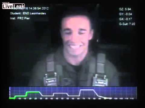 Embry-Riddle Pilot handles 8 G's - Air Force training