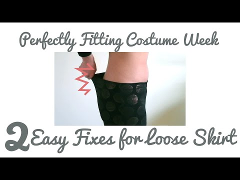 2 Easy Fixes for Loose Dance Skirt - Perfectly Fitting Costume Week 3/3