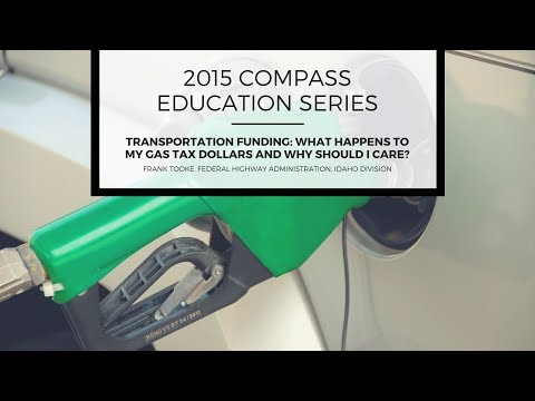 2015 COMPASS Education Series #3: Frank Tooke, Federal Highway Administration, Idaho Division