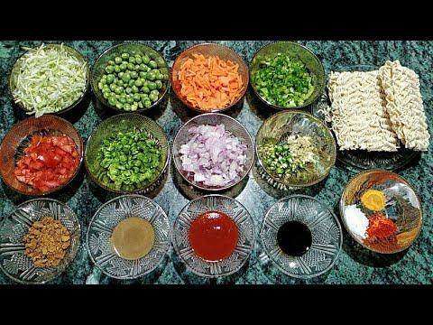 Veg.Masala Maggi Recipe   मैगी मसाला   Best Maggi Recipe   Delicious masala maggi noodles