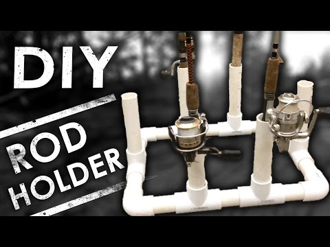 Easy DIY PVC Fishing Rod Holder & Organizer for Storage | The Sticks Outfitter | EP. 13