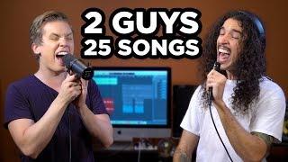 2 Guys, 25 Songs (SING OFF vs. Ten Second Songs)