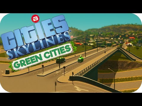 Cities: Skylines Green Cities ▶ON & OFF RAMPS!◀ Cities Skylines Green Cities DLC Part 5
