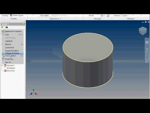 Area, Volume, and Iproperties on Autodesk Inventor