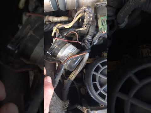 Ford 7.3 glow plug relay Failure solution GPR fix