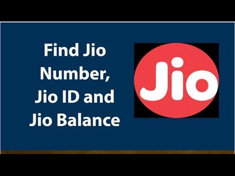 How To Check Jio SIM mobile number, Jio ID and Jio Balance
