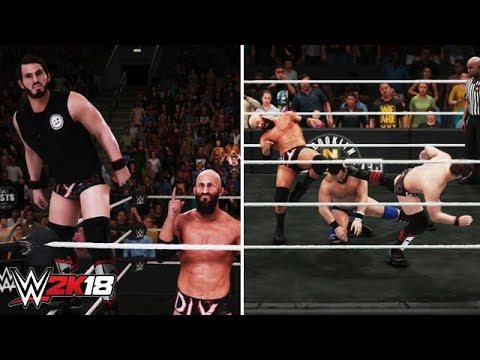 WWE 2K18: DIY Tag Team Entrance, Finisher & Victory Motion (NXT Takeover)