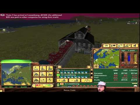 Railroad Tycoon 3 - European Tycoon! #1 [1.06 Fanpatch]