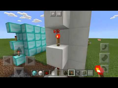 How to make a teleporter in minecraft Pe (NO MODS)