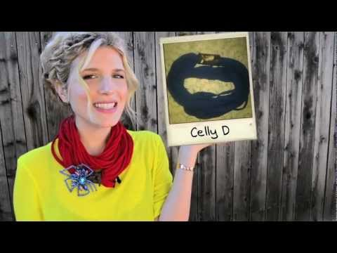Mr. Kate DIY T-Shirt Scarf Tutorial with Viewer Submitted Photos