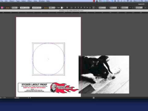 Create a Clipping Mask in Adobe Illustrator CS6