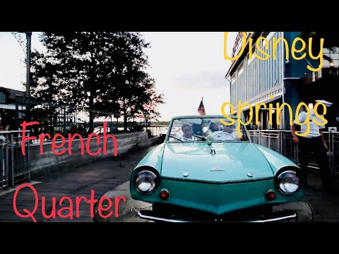 Port Orleans French Quarter and Disney Springs Vlog
