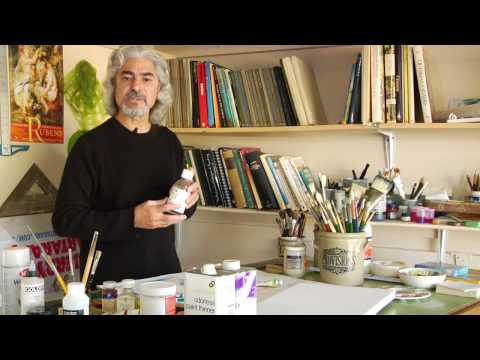 Oil & Acrylic Painting Tips : Paint Brush Cleaner