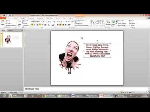 How To Create An Ad Using PowerPoint And Jing