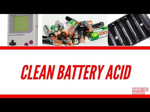 How To Clean Battery Acid