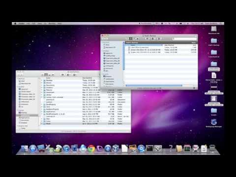 Macbook Backup: 1-3 Creating a Burn Folder