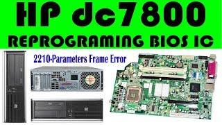 redigitt #001 HP Compaq dc7800 USDT PC ALL Ultra Slim teardown +