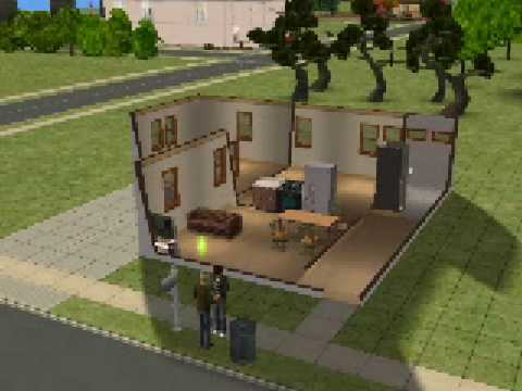 Sims 2 - How to make a nice house under $20 000