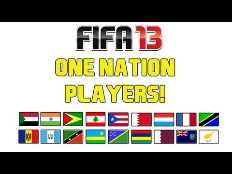 FIFA 13 - One Nation Players!