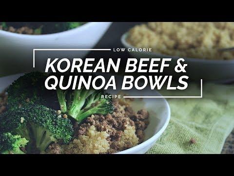 Korean Beef Quinoa Bowl | Simple Beef & Broccoli Recipe
