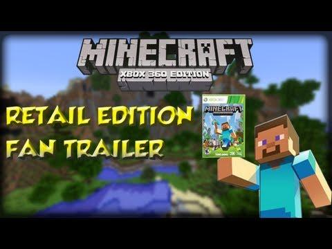 Minecraft Xbox360: Retail Edition Fan Trailer (Minecraft Machinima/Trailer)