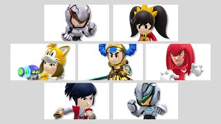 Super Smash Bros. - Mii Fighters Suit Up for Wave Six