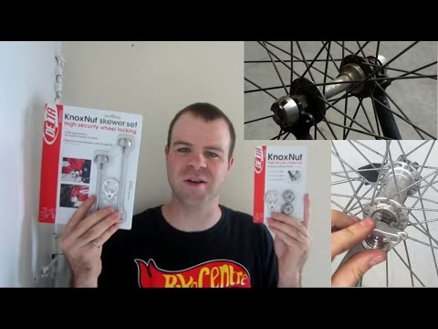 How to Secure your Bike Wheels from Theft - Knox Nuts - Product Review