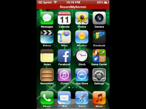 How to change signal bars to numbers on your iphone 4 4s 5.